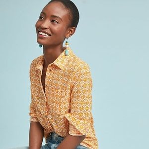 Anthropologie Petrin Buttondown new